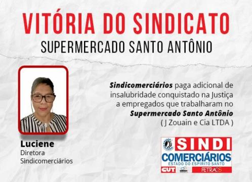 Informe Jurídico: Supermercado Santo Antônio